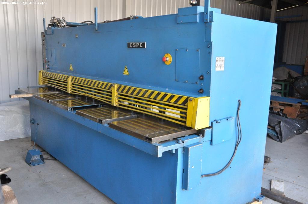 Gilotyna hydrauliczna Espe CNTA 3150x6,3 CNC
