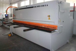 Nożyce gilotynowe Ermak CNC HVR 4100x6