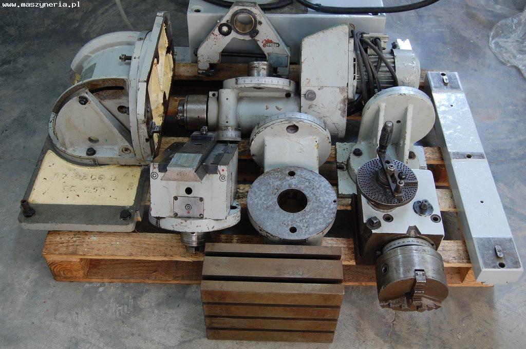 Wyposażenie frezarki AVIA FND 32 AT