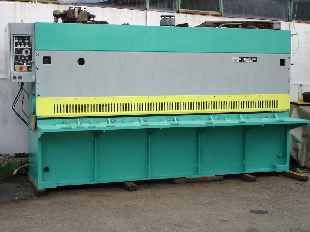 Gilotyna hydrauliczna CNTA 3150/10 A