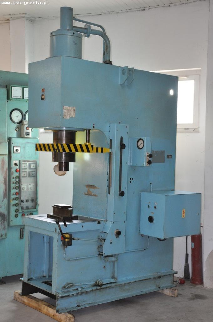 Prasa hydrauliczna PYE 100 N